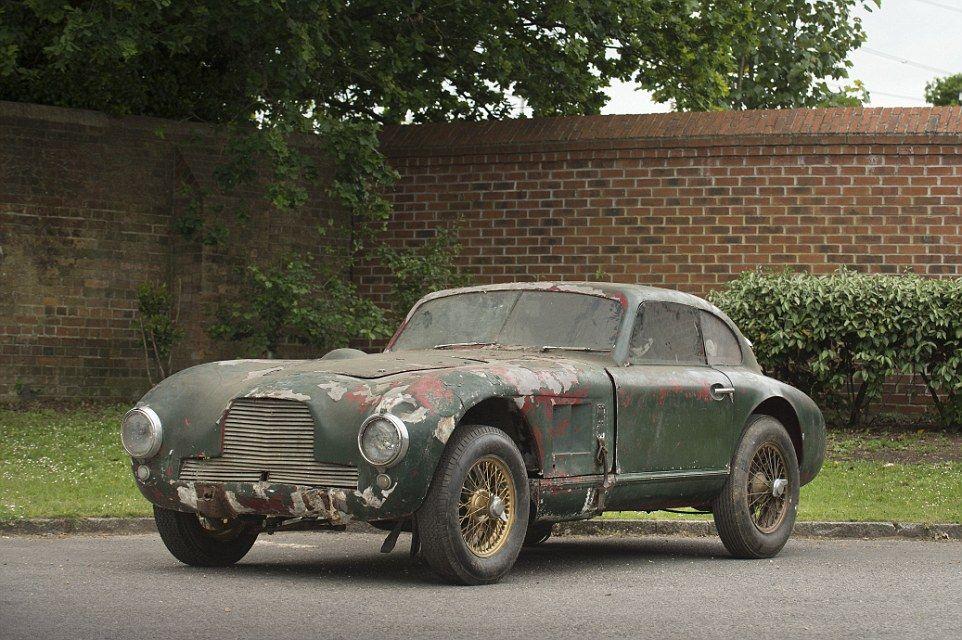 Dilapidated postwar Aston Martin racer sells for £679,100 | Aston ...