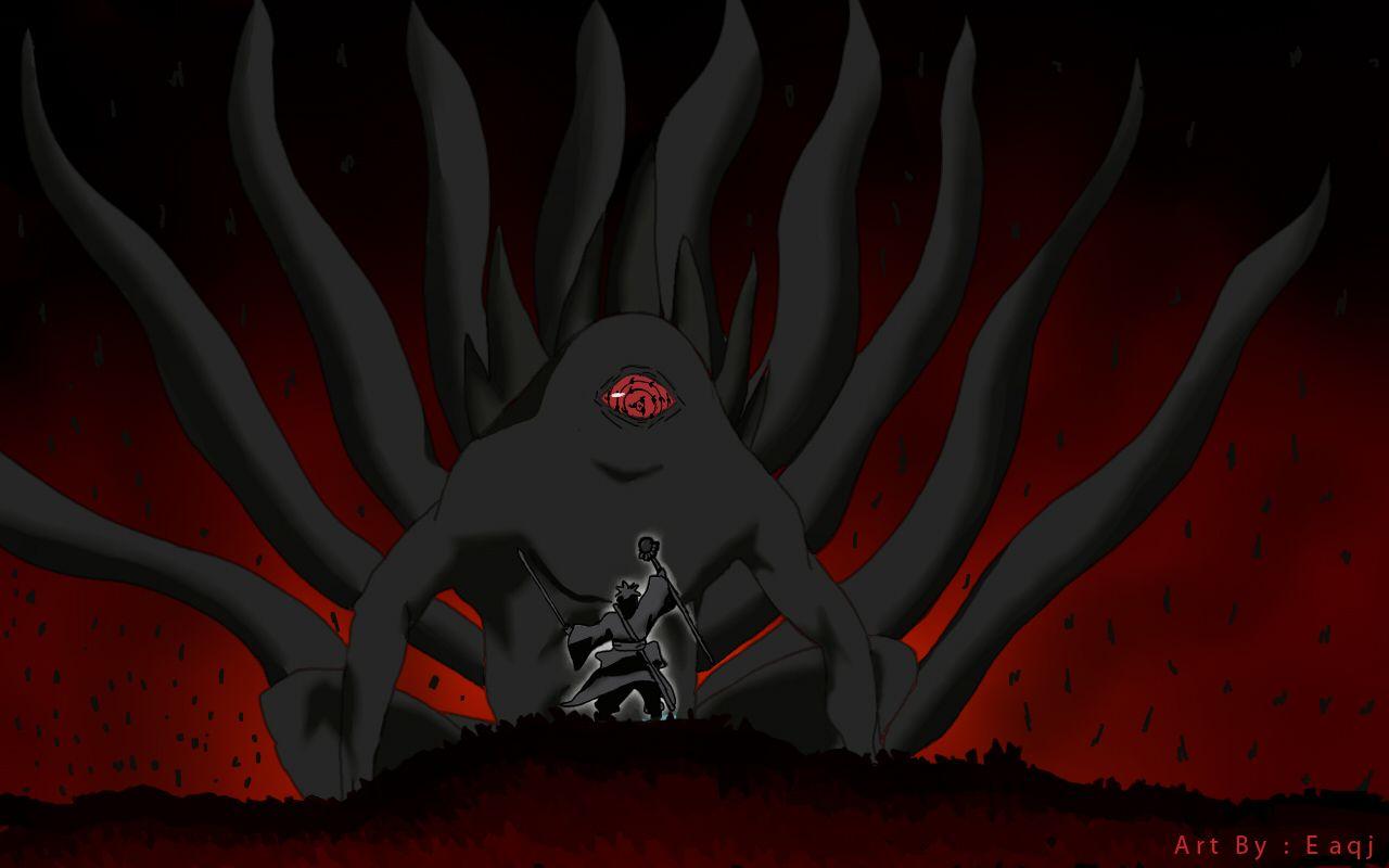 Naruto Shippuuden 10tails Naruto Naruto Shippuden Hakkenden