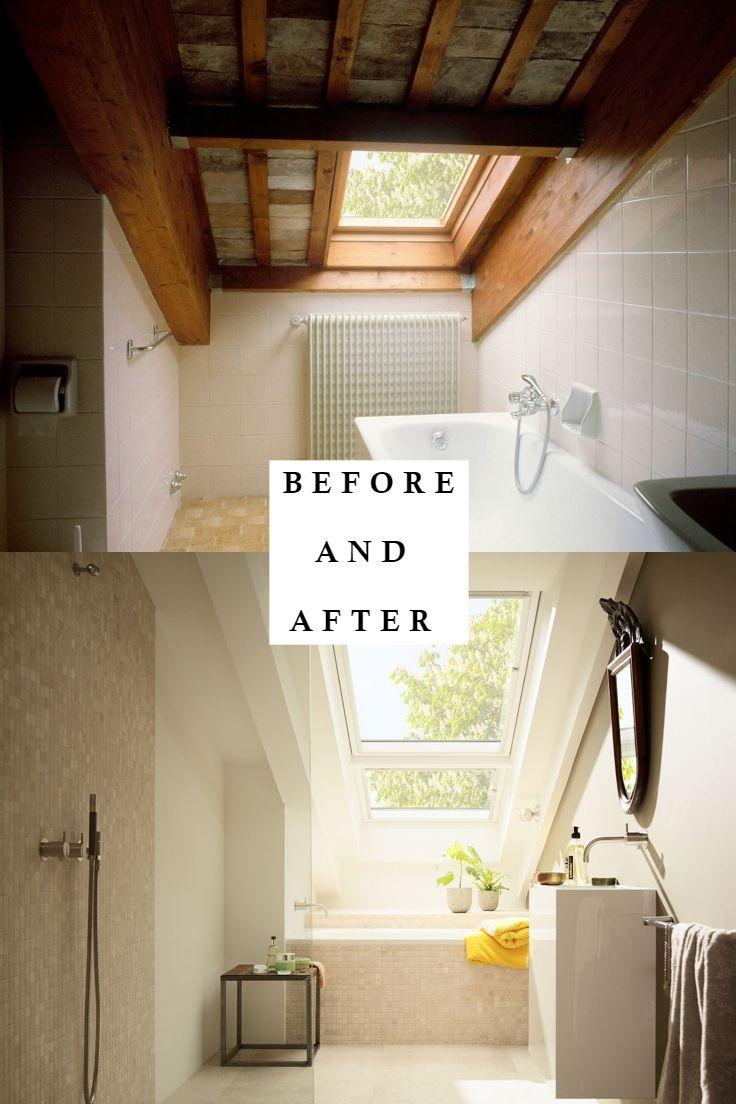 Badideen in grau und weiß das perfekte badezimmer mit dachschrägen so gelingt der