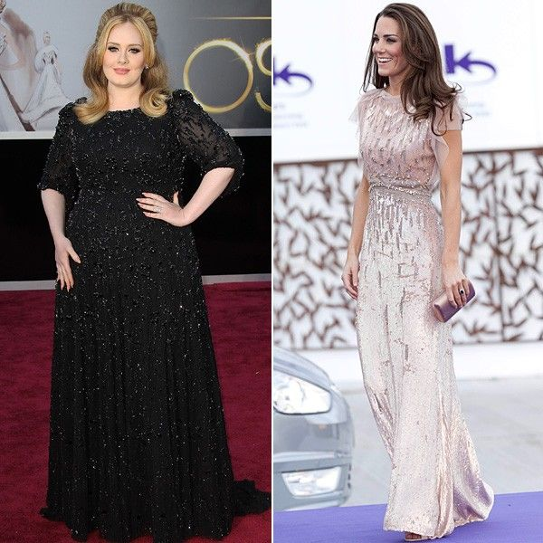 Jenny Packham Dresses On Adele And Kate Middleton Rumour Has It She Will Design S