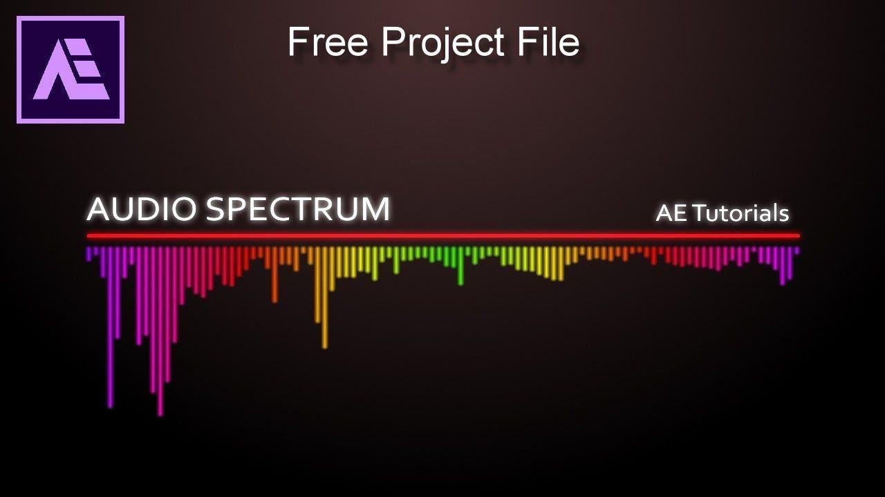 After Effects Tutorial Audio Spectrum Waveform Effects No Plugin Edição De Vídeo Edições