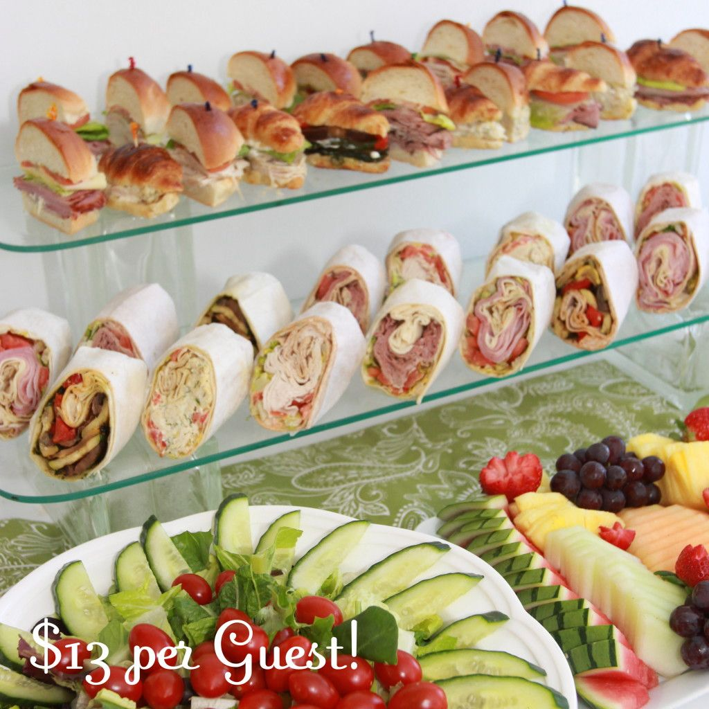 Summer Wedding Buffet Menu Ideas: Luncheon Catering For Showers And Corporate Lunches In NJ