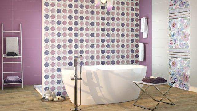 Pinkes badezimmer ~ Rosa badezimmer gestalten freistehende badewanne bathroom