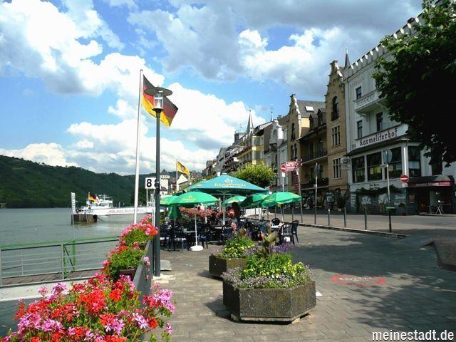 An der Rheinpromenade, Boppard