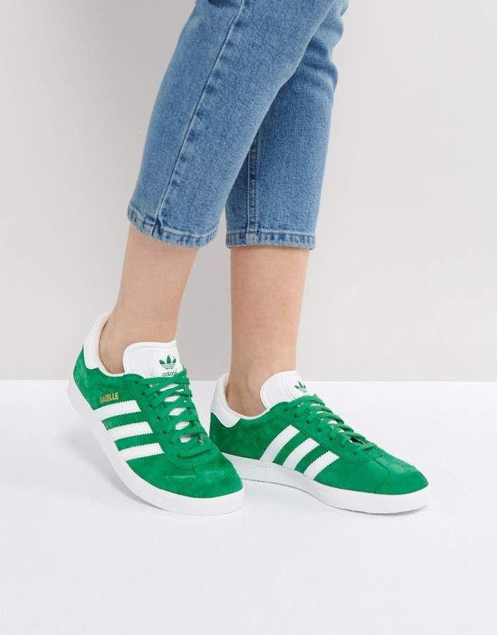adidas Originals Adidas Originals Gazelle Green Suede
