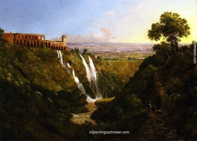Christopher Pearse Cranch Tivoli, East of Rome, painting Authorized official website