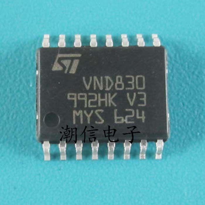 Free shipping 5pcs\/lot VND830 VND830E SOP-16 new original - free sop