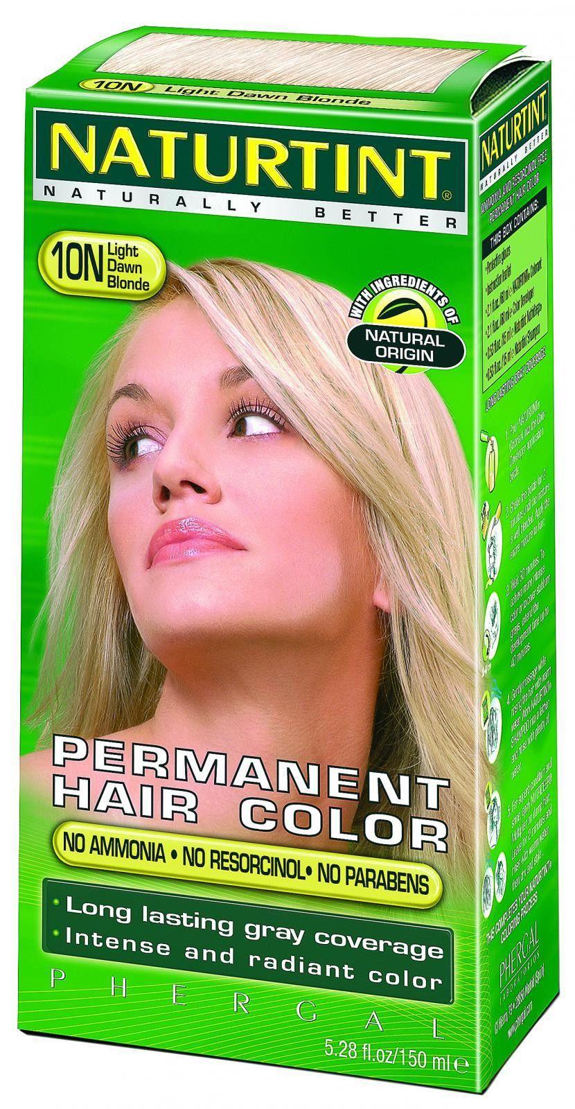 Naturtint Hair Color Permanent 10n Light Dawn Blonde 528 Oz