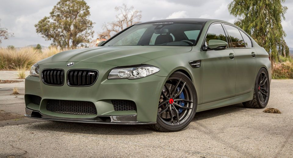 If Anything A Matte Military Green Bmw M5 Is Certainly Different