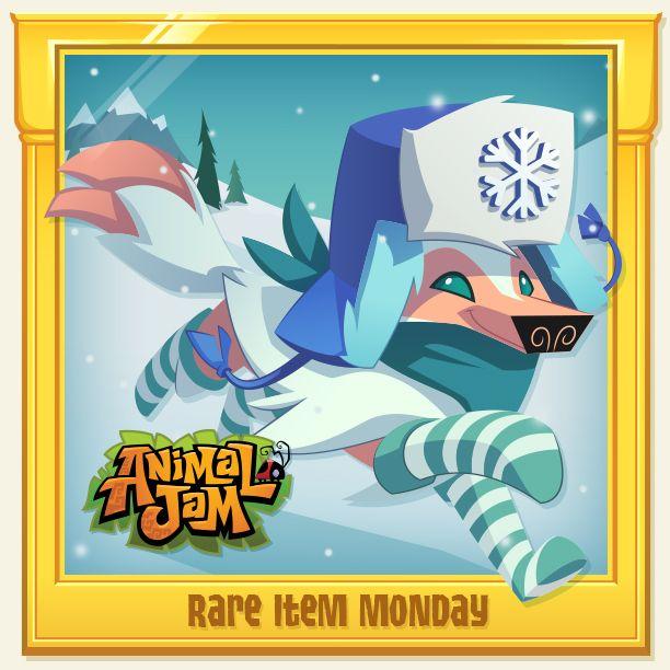 Rare Item Monday The Daily Explorer Animal Jam Animal Jam Play Wild Animal Jam Codes