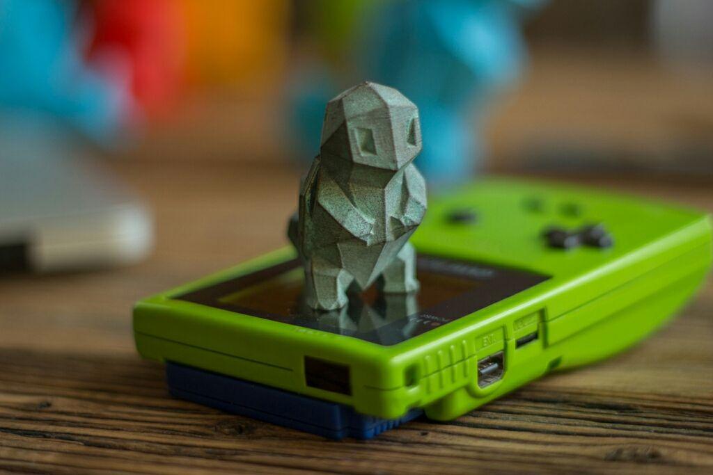 A Squirtle 3D printed in bronze (via reddit)   Gaming   3d