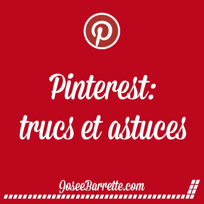 Des outils, articles et autres pour une gestion efficace et profitable de votre compte Pinterest d'affaire