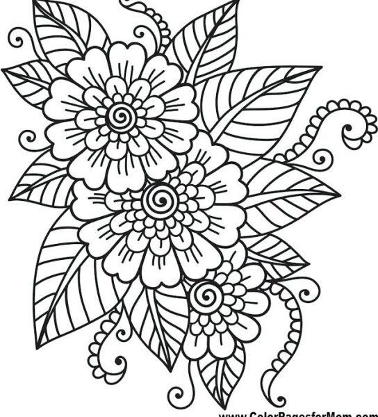 Pin On 100 Free Adult Coloring Pages