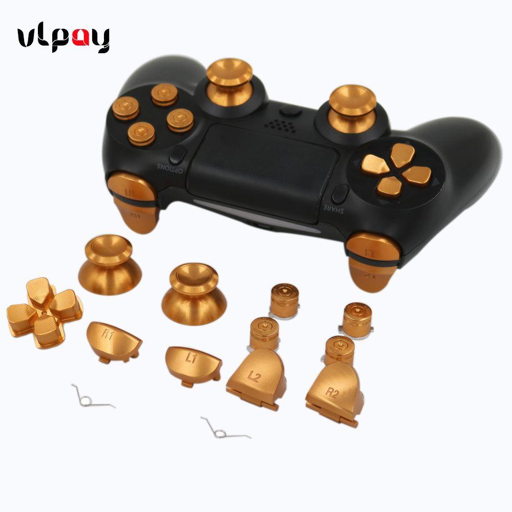 40% Off ] VPLAY PS4 Controller Full Aluminum Metal Buttons
