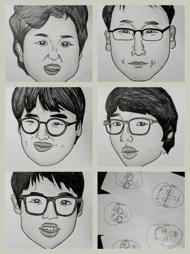 초등학교 동창 영기의 가족!^^