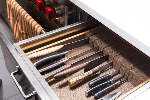 epicurious on in 2018 How to make Pinterest Knife storage
