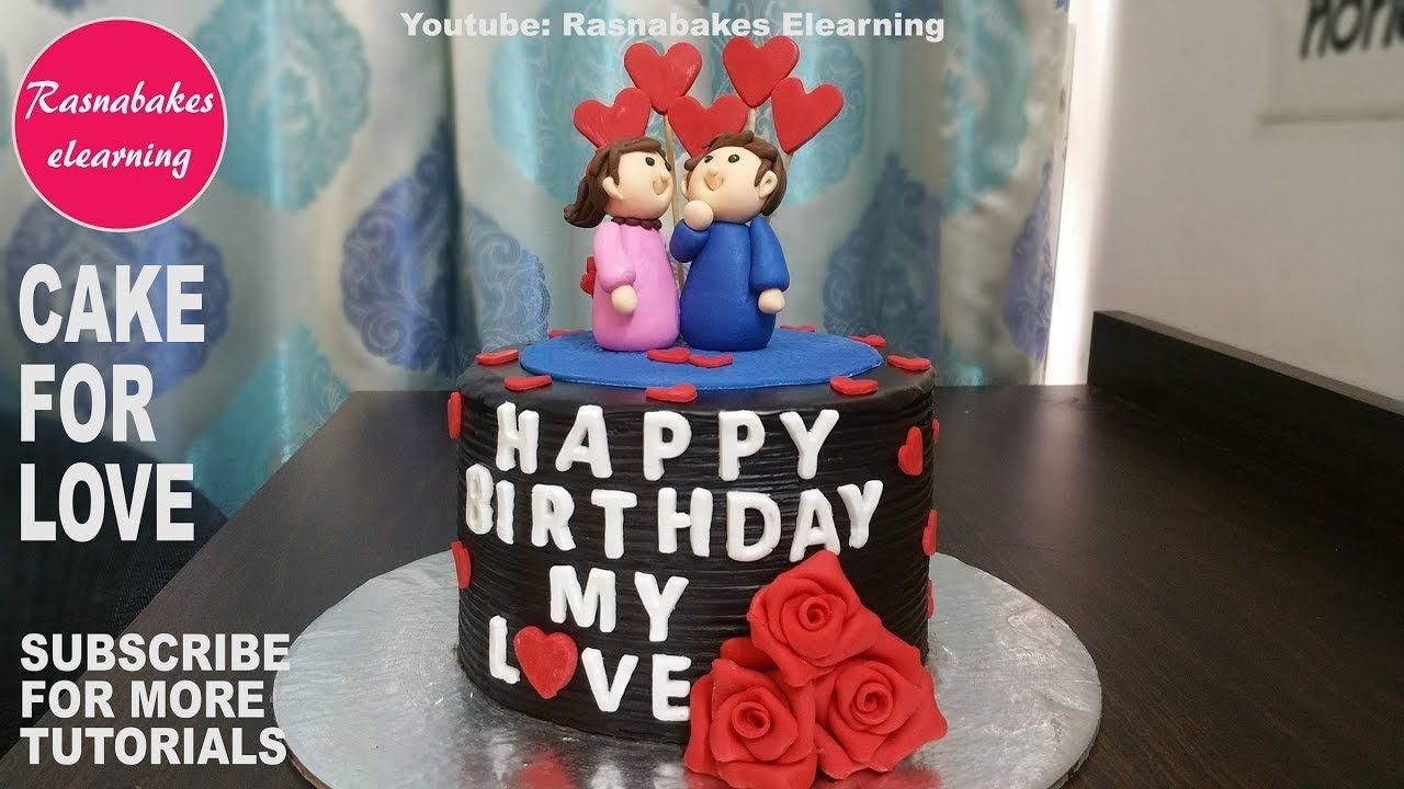 happy birthday cake design for husband hubby boyfriend