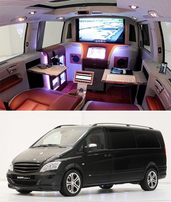 Mercedes Van, Mini Van, Viano