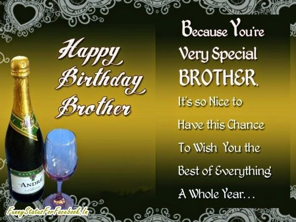 Best Happy Birthday Brother Wishes Messages Quotes With Images