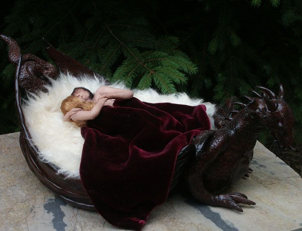 Photo of Dragon bed- This would be great if this were real.