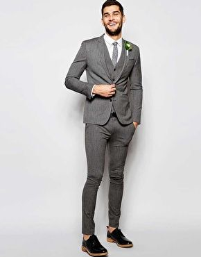 Discover Fashion Online | groom | Pinterest | Skinny suits and ...