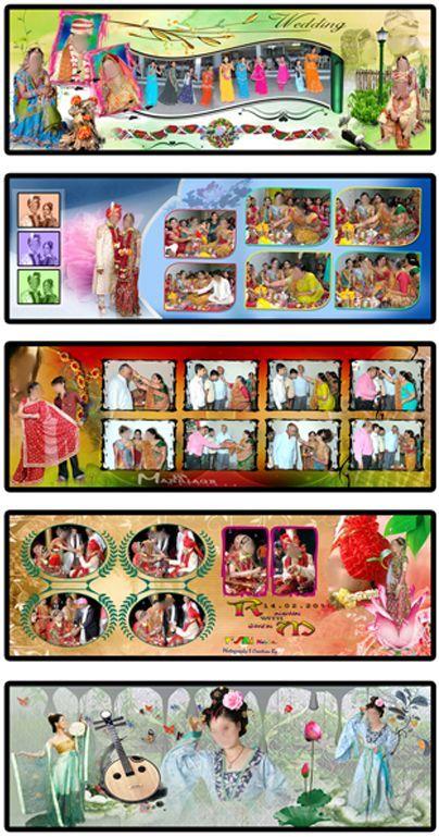 Wedding Al Design Photo Psd File Indian Designs