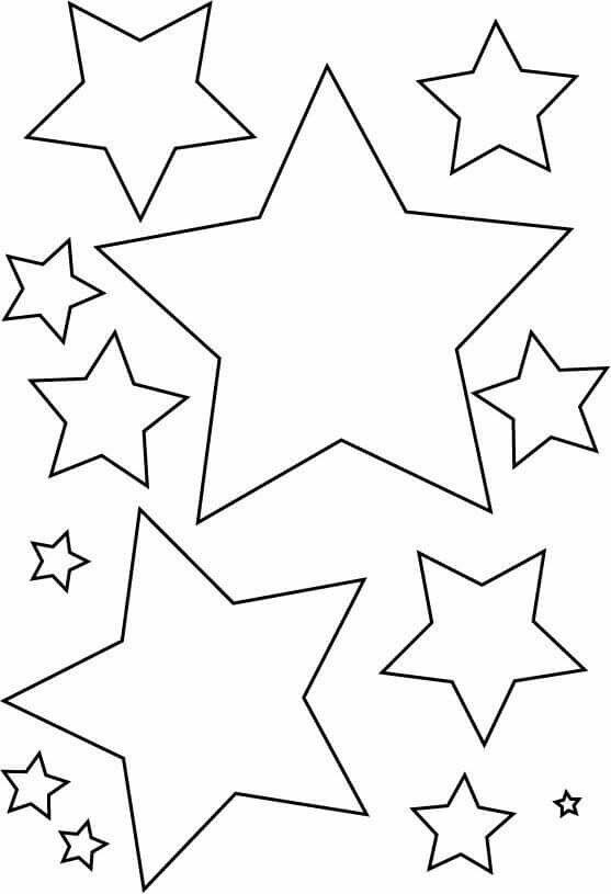 Kalıplar Gökyüzü Boyama Sayfaları Eğitim Ve Okul öncesi