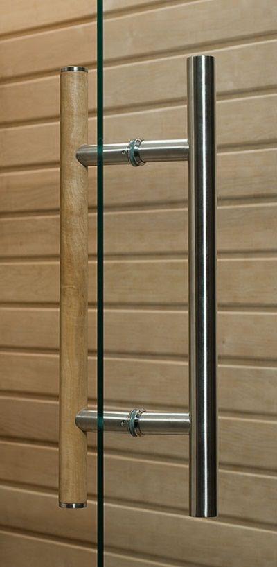 sauna door handle bathrooms pinterest door handles. Black Bedroom Furniture Sets. Home Design Ideas