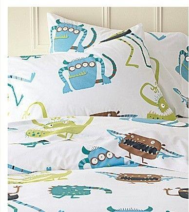 Lovely Monster Bed Sheets