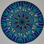 Bluecircle - silk painting