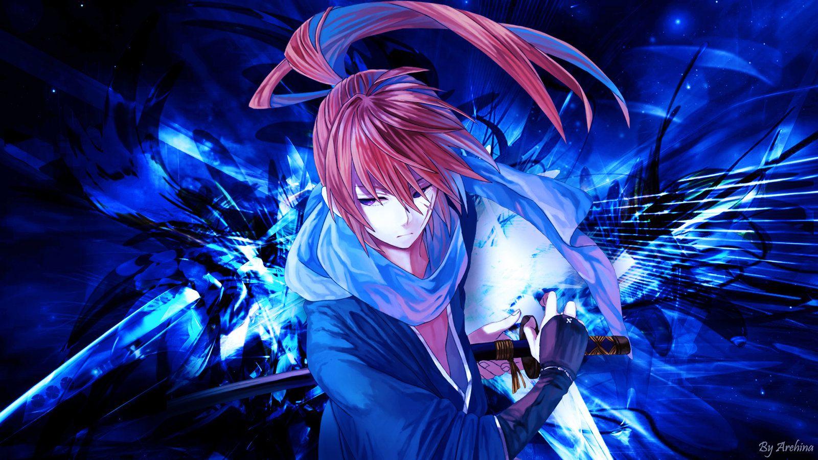 Rurouni Kenshin Himura Kenshin Wallpaper By Arehina On Deviantart Kenshin Wallpaper Rurouni Kenshin Wallpaper Hd Himura Kenshin Wallpapers Download wallpaper anime samurai x