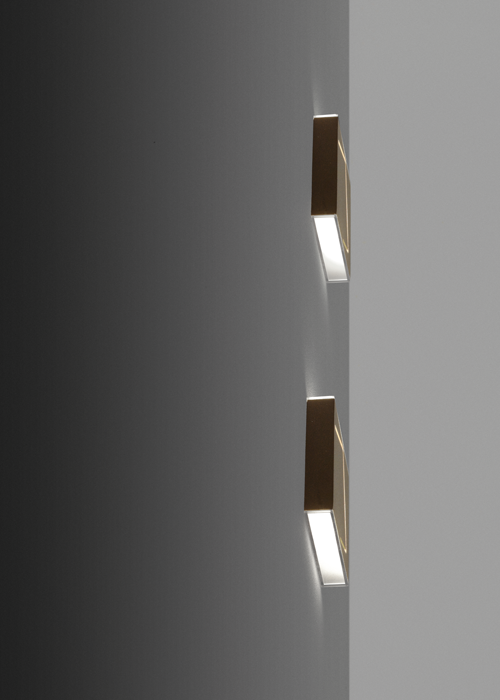 Puà, available in different finishes, to be used as applique or ...