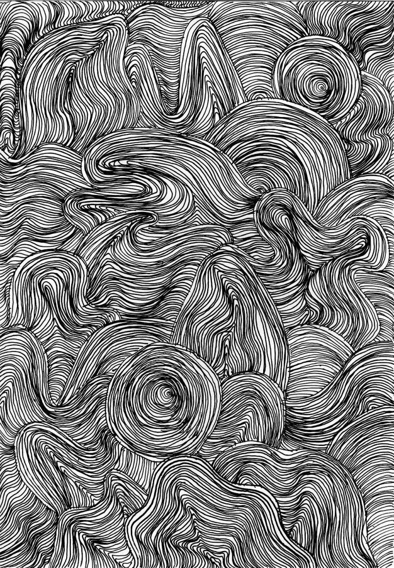 Muster Zeichnen Meditativ Oder Einfach Nur Langweilig Zeichnen Muster Malerei Tuschezeichnungen