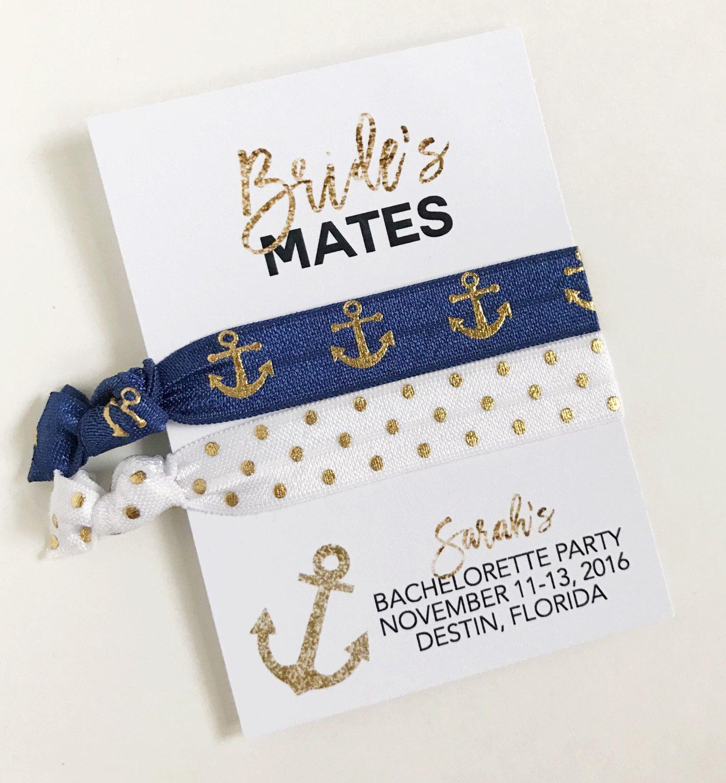 Nautical Bachelorette, Brides\'s Mates, Bachelorette Party Favors ...