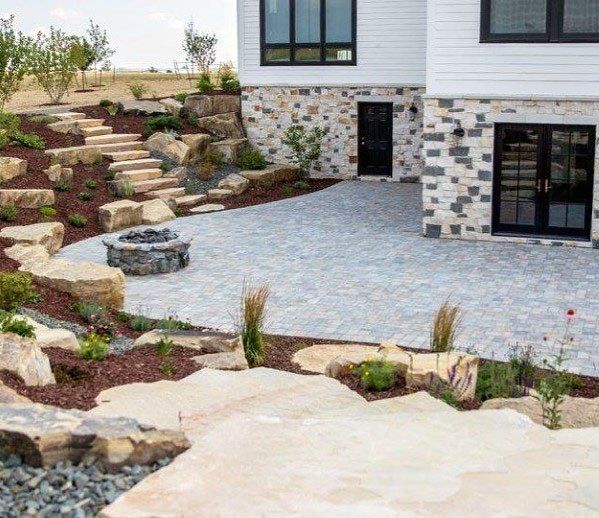 Sloping Garden Ideas And Optimal Solutions For Landscape: Top 50 Best Slope Landscaping Ideas