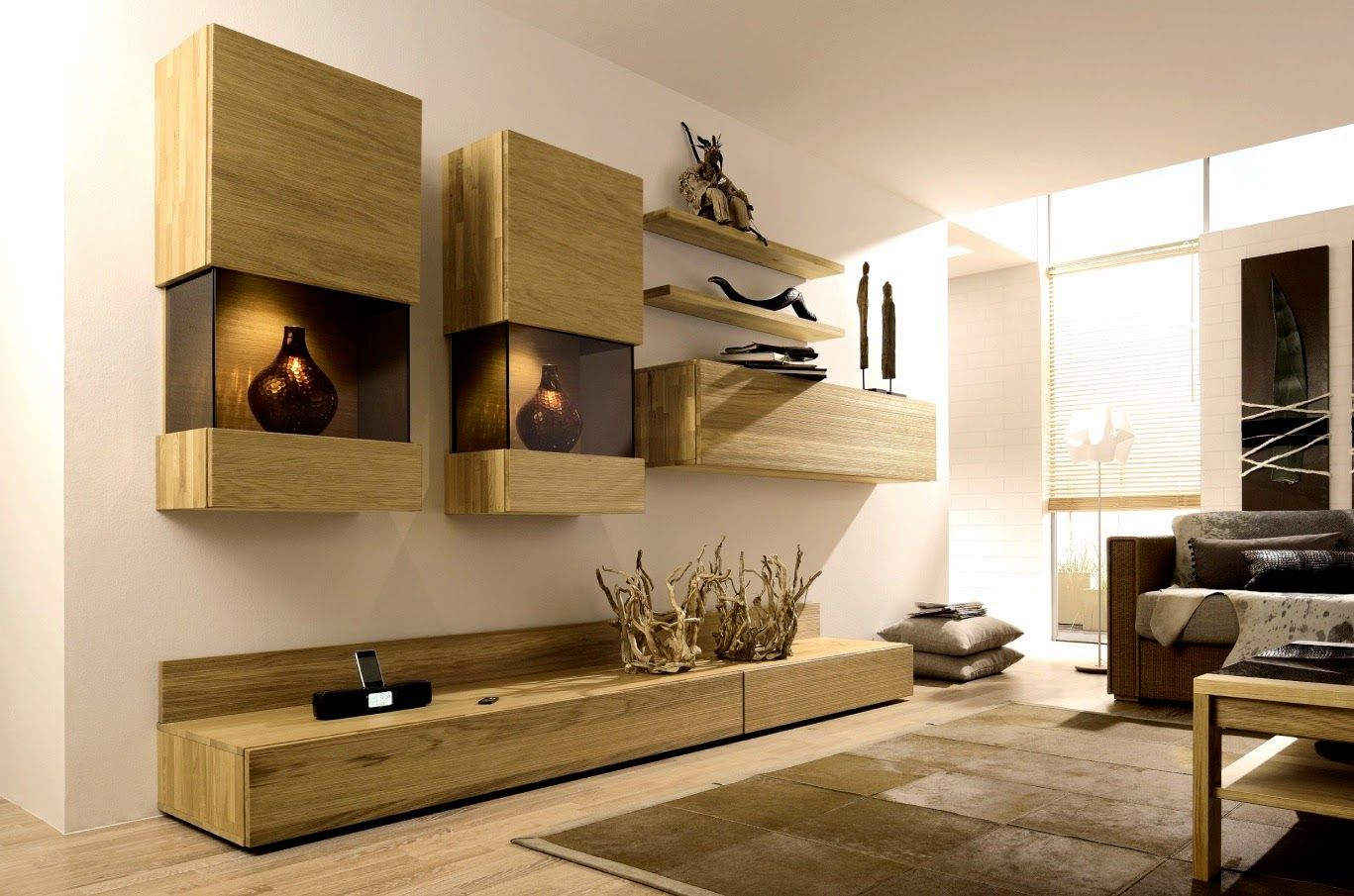 Tv Wall Unit Best 19 Modern Tv Wall Units For Living Room, TV ...