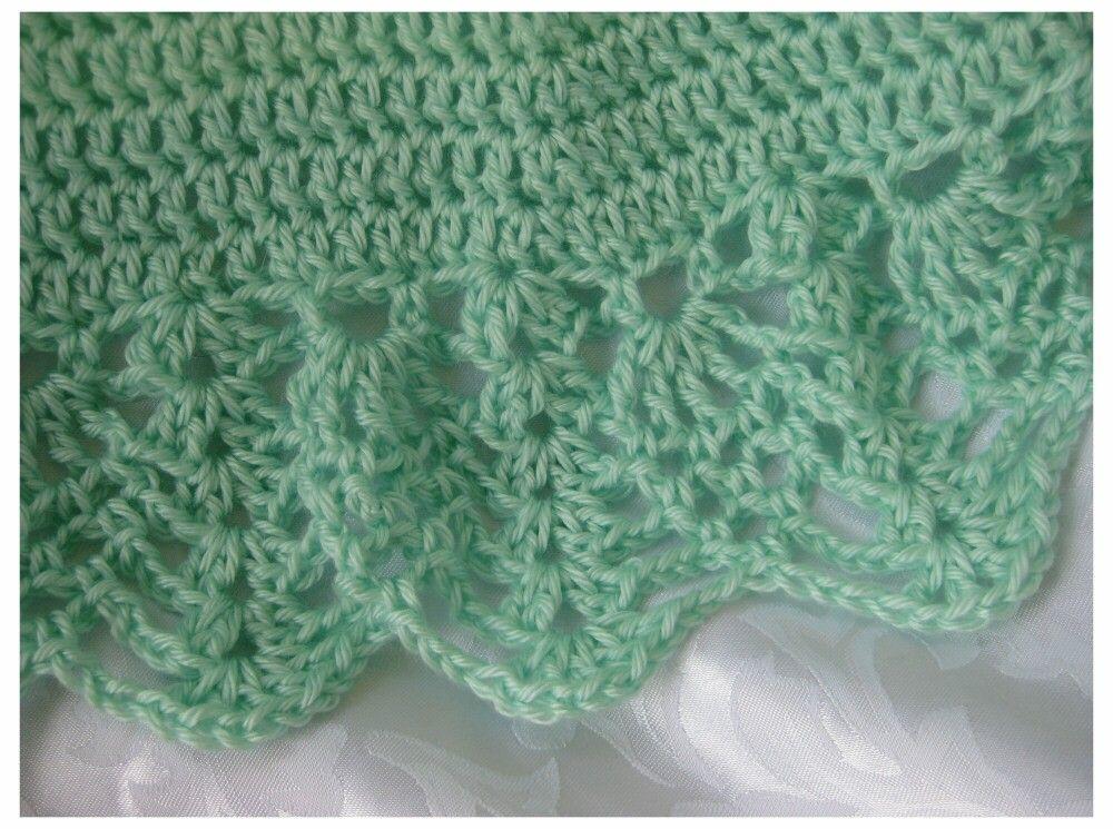 Free Baby Crochet Patterns Baby Blanket Crochet Pattern Shell