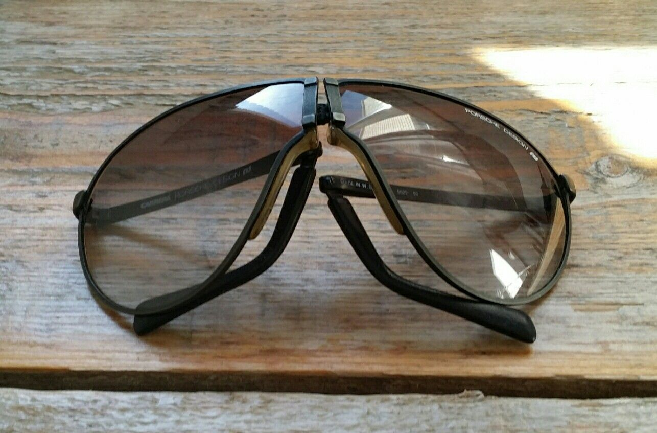 771ddeb50e9 Just arrived vintage SCARFACE TONY MONTANA Porsche Design by Carrera 5622  BLACK folding sunglasses