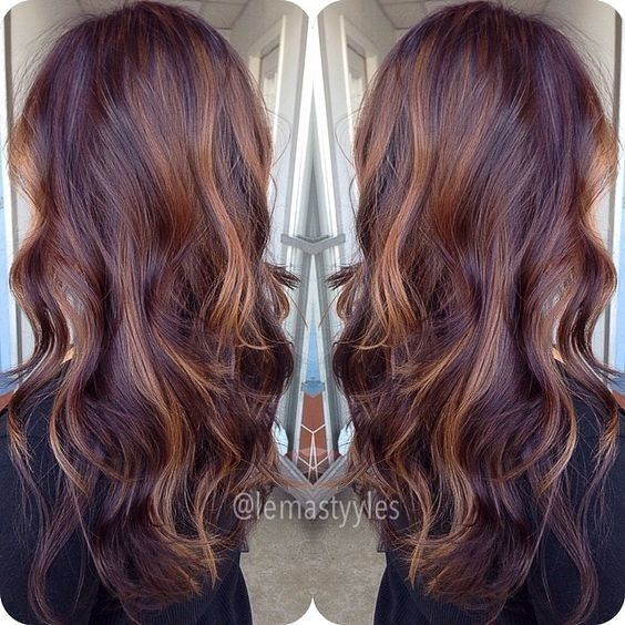10 mahogany hair color ideas ombre balayage hairstyles. Black Bedroom Furniture Sets. Home Design Ideas