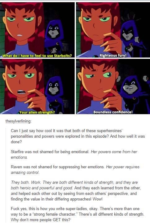 In this episode Raven and Starfire swap bodies because of the Puppet Master 9dc95f89f