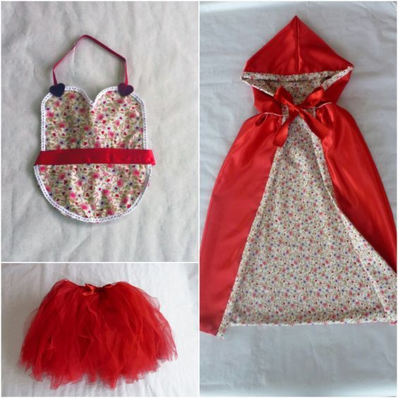 Disfraz Caperucita Roja Casero 6 B Disfraz Caperucita Roja Como Hacer Disfraces Y Disfraz Caperucita