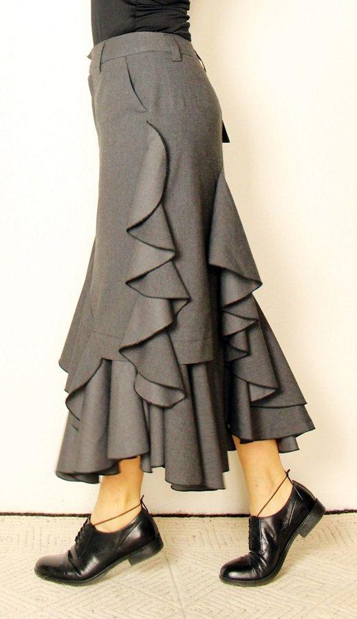 PDF sewing pattern skirt \
