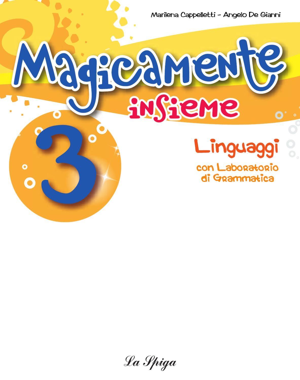 Magicamente Insieme 3 Linguaggi Visual Learning Kids Book Geo