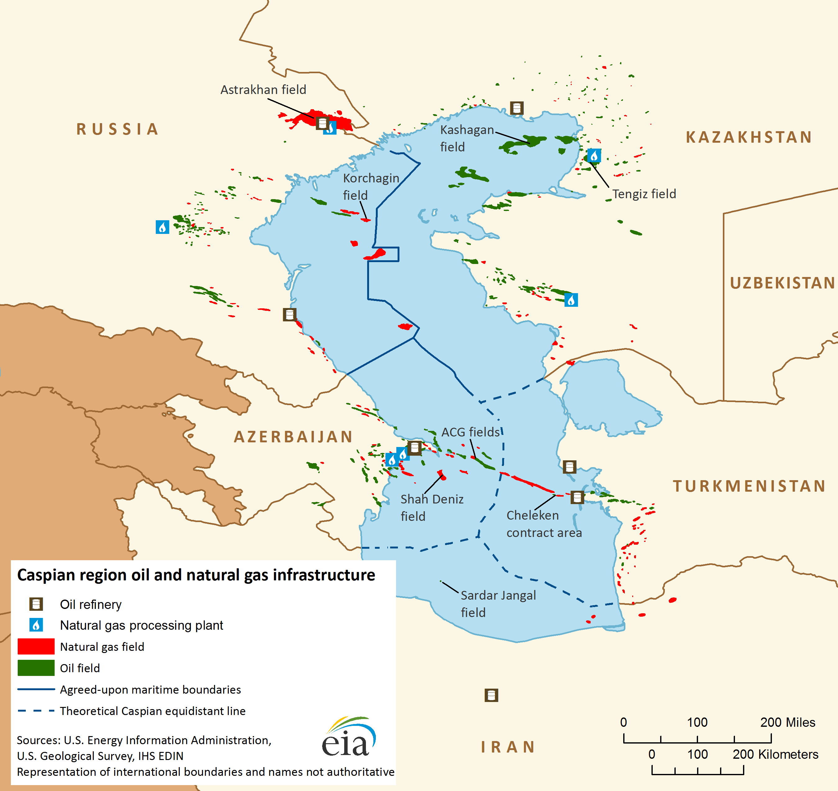 Map Of Caspian Region Oil And Natural Gas Infrastructure Caspian Sea Map Iran Travel