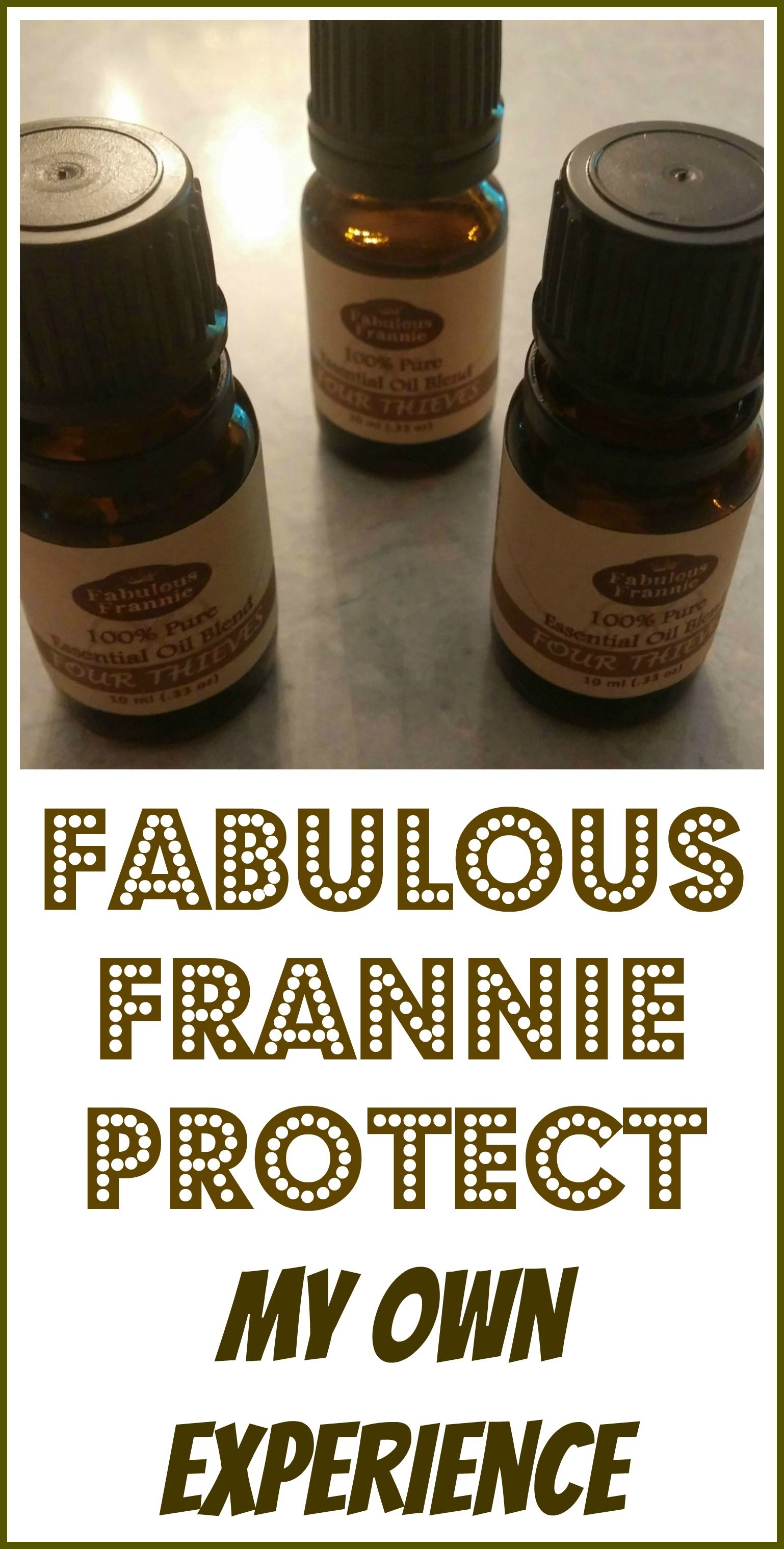 My Experience With Fabulous Frannie Protect | Holistic Healing With ...