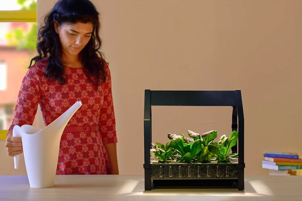 Ikea wants you to grow your next salad on your kitchen countertop grow your own salad with ikeas hydroponic gardening kits http workwithnaturefo