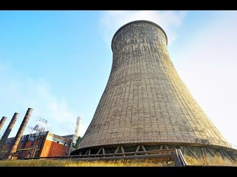 Abandoned Nuclear Power Plant Went Inside Cooling Tower