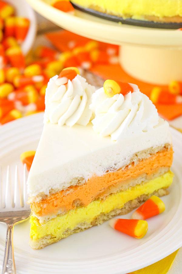 Candy Corn Icebox Cake Recipe Easy Halloween Dessert