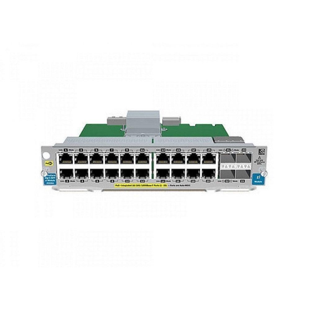 HP 20-Ports Gig-T / 4-Ports SFP v2 Zl Module J9549A