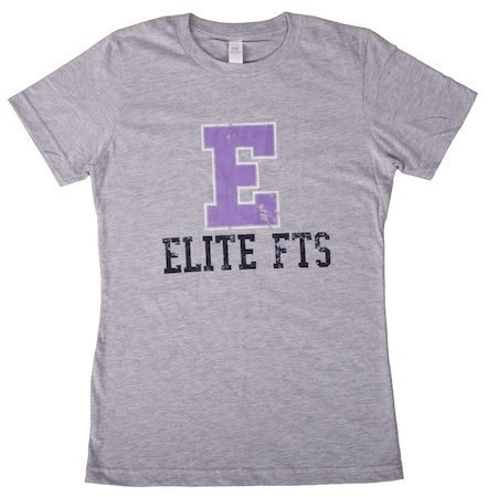 EliteFTS: EFS Girl Capital Purple E Tee NL